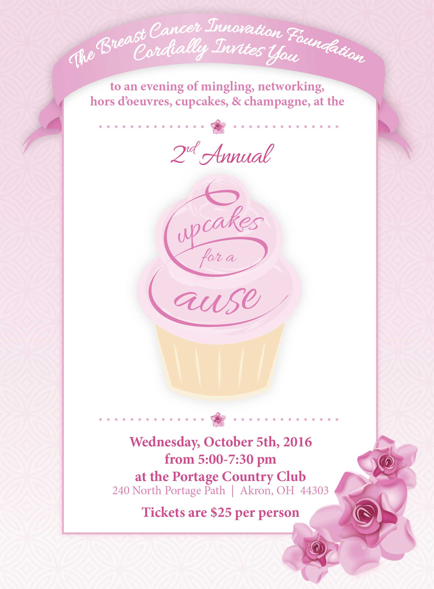 2nd Annual Cupcakes for a Cause | BREAST CANCER INNOVATION FOUNDATION